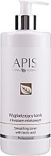 Parfumuri și produse cosmetice Tonic pentru netezire cu Acid Lactic - APIS Professional Smoothing Toner With Lactic Acid