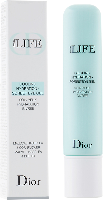 Gel pentru conturul ochilor - Christian Dior Hydra Life Cooling Hydration Sorbet Eye Gel — Imagine N2