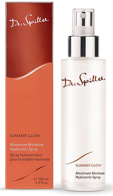 Увлажняющий спрей - Dr. Spiller Summer Glow Maximum Moisture Hyaluronic Spray — фото N1