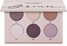 Parfumuri și produse cosmetice Палетка теней для век, 6 цветов - Pierre Rene 6th Sense Eyeshadow Palette