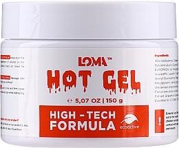 Духи, Парфюмерия, косметика Cremă-gel cu efect de încălzire pentru corp - Loma Sports Hot Gel Cream