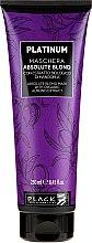 Parfumuri și produse cosmetice Mască pentru păr decolorat - Black Professional Line Platinum Absolute Blond Mask