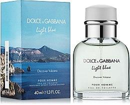 Parfumuri și produse cosmetice Dolce & Gabbana D&G Light Blue Discover Vulcano - Apă de toaletă (tester cu capac)