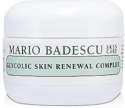 Parfumuri și produse cosmetice Cremă restaurativă pentru față - Mario Badescu Glycolic Skin Renewal Complex
