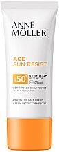 Parfumuri și produse cosmetice Cremă cu protecție solară pentru față - Anne Moller Age Sun Resist Protective Face Cream SPF50+