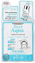 Parfumuri și produse cosmetice Mască în 3 etape pentru față - Bergamo 3-Step Aqua Mask Pack