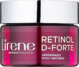 Parfumuri și produse cosmetice Cremă de zi pentru întinerirea tenului - Lirene Retinol D-Forte Rejuvenating Day Cream For Skin Tightening 60+