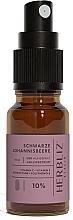 """Parfumuri și produse cosmetice Ulei spray pentru gură """"Coacăze negre"""" 10% - Herbliz CBD Oil Mouth Spray 10%"""
