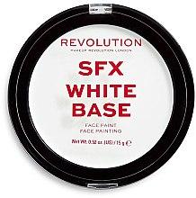 Parfumuri și produse cosmetice Bază de machiaj - Makeup Revolution Halloween SFX White Cream Face Base