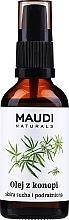 Parfumuri și produse cosmetice Ulei din semințe de cânepă, cu dozator - Maudi
