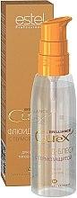 Parfumuri și produse cosmetice Fluid cu protecție termică pentru toate tipurile de păr - Estel Professional Curex Brilliance Fluid