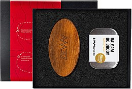 Parfumuri și produse cosmetice Set - Zew For Men (balm/80 ml + brush)