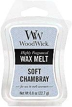 Parfumuri și produse cosmetice Ceară aromată - WoodWick Wax Melt Soft Chambray