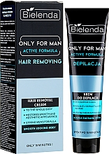 Духи, Парфюмерия, косметика Cremă pentru epilat - Bielenda Only For Man Active Formula Cream