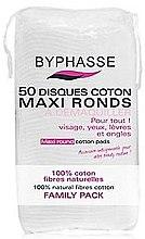 Parfumuri și produse cosmetice Discuri din bumbac pentru demachiere - Byphasse Maxi Round Cotton Pads