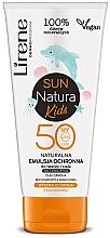 Parfumuri și produse cosmetice Emulsie pentru bronzare SPF 50+, pentru copii - Lirene Sun Natura Kids Protective Emulsion SPF50+