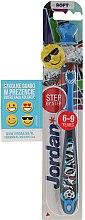 Parfumuri și produse cosmetice Periuță de dinți Stept 3 (6-9 ani) moale, Sport - Jordan