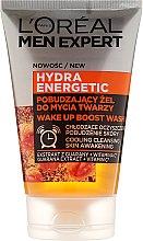 Parfumuri și produse cosmetice Gel de curățare pentru față - Loreal Paris Men Expert Hydra Energetic