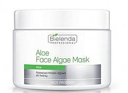 Parfumuri și produse cosmetice Mască alginată pentru față cu aloe - Bielenda Professional Face Algae Mask with Aloe