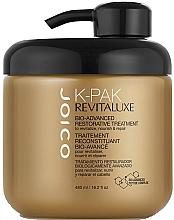 Parfumuri și produse cosmetice Bio mască de reconstrucție cu complex keratină-peptidă pentru păr - Joico K-Pak Revitaluxe Bio-Advanced Restorative Treatment