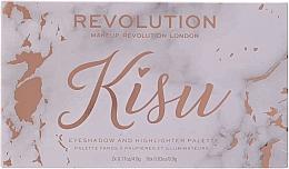 Farduri pentru pleoape - Makeup Revolution x Kisu Eyeshadow Palette — Imagine N3