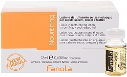 Духи, Парфюмерия, косметика Ампулы для реструктуризации сухих волос - Fanola Leave-In Restructuring Lotion