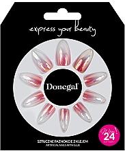 Parfumuri și produse cosmetice Unghii false, cu adeziv, 3061 - Donegal Express Your Beauty