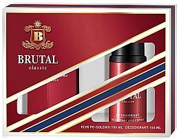 Parfumuri și produse cosmetice La Rive Brutal Classic - Set (ash/lot/100ml + deo/150ml)