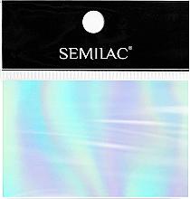 Parfumuri și produse cosmetice Folie pentru designul unghiilor - SEMILAC Transfer Foil (1 buc.)