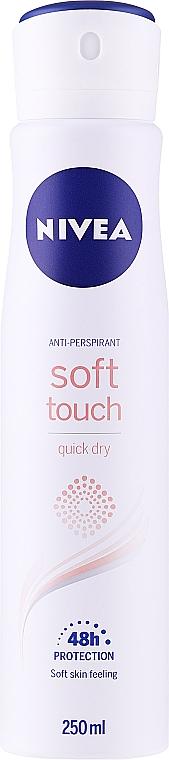 Deodorant antiperspirant Spray - Nivea Soft Touch Quick Dry 48H Anti-Perspirant Spray