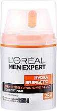 Cremă hidratantă pentru față - L'Oreal Paris Men Expert Hydra Energetic Comfort Max 25+ — Imagine N2