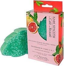 """Parfumuri și produse cosmetice Burete exfoliant 2 în 1 """"Anticelulită"""" - Le Cafe de Beaute Sponge"""