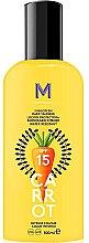 Parfumuri și produse cosmetice Cremă cu protecție solară pentru bronz intens - Mediterraneo Sun Carrot Sunscreen Dark Tanning SPF15