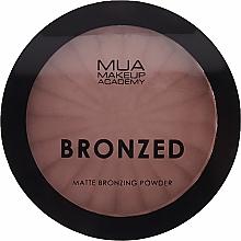 Parfumuri și produse cosmetice Pudră- bronzer pentru față - MUA Bronzed Matte Bronzing Powder