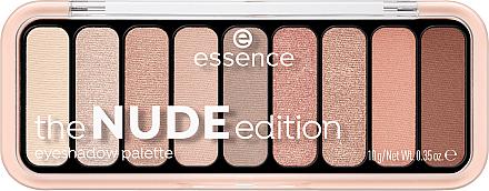 Paletă farduri de ochi - Essence The Nude Edition Eyeshadow Palette
