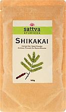 "Parfumuri și produse cosmetice Pudră de păr ""Shikakai"" - Sattva"