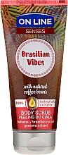 Parfumuri și produse cosmetice Scrub de corp - On Line Senses Body Scrub Brasilian Vibes