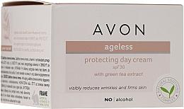 Parfumuri și produse cosmetice Cremă cu extract de ceai verde de zi pentru față - Avon Ageless Protacting Day Cream SPF 30