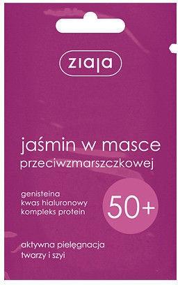 Mască de față 50+ - Ziaja Jasmine Face Mask