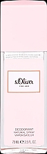 Parfumuri și produse cosmetice S.Oliver For Her - Deodorant