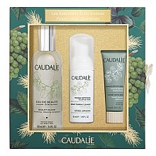 Parfumuri și produse cosmetice Set - Caudalie Power Glow Essentials Set (f/water/100ml + f/mousse/50ml + f/mask/15ml)