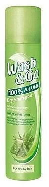 Șampon cu extract de aloe pentru păr gras - Wash&Go
