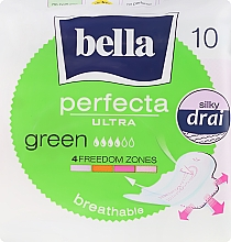 Духи, Парфюмерия, косметика Absorbante Perfecta Green Drai Ultra, 10buc - Bella