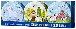 Parfumuri și produse cosmetice Set - SeaNtree Donkey Milk Water Drop Set 7 (face/cr/3x35g)
