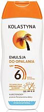 Parfumuri și produse cosmetice Emulsie de corp - Kolastyna Suncare Emulsion SPF6