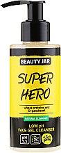 """Parfumuri și produse cosmetice Gel de curățare pentru față """"Super hero"""" - Beauty Jar Low Ph Face Gel Cleanser"""