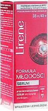 Parfumuri și produse cosmetice Ser pentru față - Lirene Formula of Youth 35+/45+