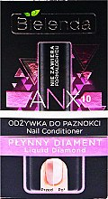 "Parfumuri și produse cosmetice Balsam pentru unghii ""Diamant lichid"" - Bielenda Liquid Diamond Nail Conditioner"