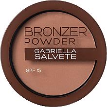 Parfumuri și produse cosmetice Пудра-бронзатор - Gabriella Salvete Bronzer Powder SPF15