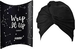 "Parfumuri și produse cosmetice Pansament cosmetic ""Turban"", negru - Anwen Wrap It Up Turban"
